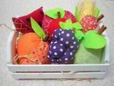 É dia de feira!!! Caixote com frutas / Fruits box