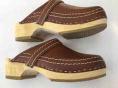 a15d91af35b 1970 s BuXa CLoGs SWeDeN NeW ViNtaGe STocK by mightyMODERN on Etsy Clogs