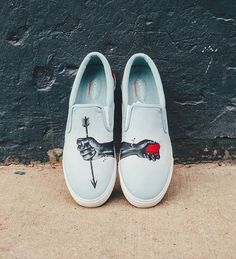 Each shoe has its own story giving you a different perspective into the artist's…
