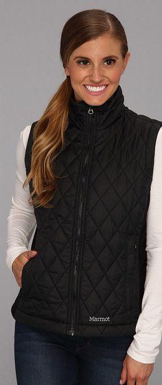 Marmot Kitzbuhel Vest (Black) Women's Vest - Marmot, Kitzbuhel Vest, 77400-001, Women's Athletic Outdoor Performance Clothing Jackets, Vest, Top, Apparel, Clothes Clothing, Gift - Outfit Ideas And Street Style 2017