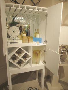 Hideout Bar Cabinet - stock the bar!!