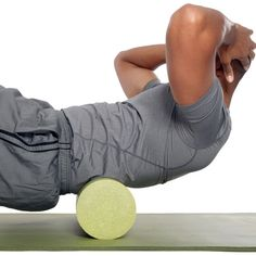 Relieve tension and prevent injuries with this muscle massage foam roller. (yup! have this at home)