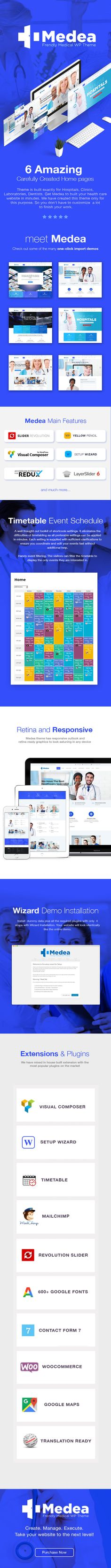 Medea - Multipurpose Health and Medical Theme by THEMEPLE | ThemeForest