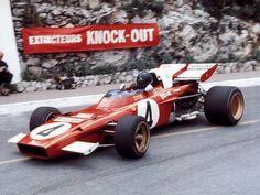 Jack Ickx, Ferrari 312B2 @ 1971 Monaco grand Prix #F1 #Ickx #Ferrari