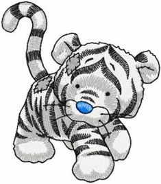 Bengal machine embroidery design. Machine embroidery design. www.embroideres.com