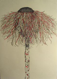 Untitled, Gregorio Racadio, Pen & Ink.