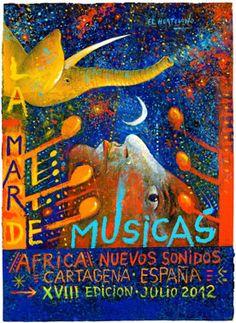 La visión que tiene El Hortelano de la edición XVIII La Mar de Músicas dedicada a 'África, Nuevos Sonidos'