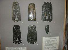 Пластины пермского звериного стиля в Чердыни