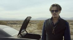 Johnny Depp is the new face of Dior Sauvage in male fragrance advertisement. Johnny is seen leaving the city and making his way into the dessert in the recent ad. He comes across animals as he finds his way.