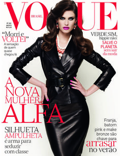 Bianca Balti by Fernando Lombardi Vogue Brasil August 2012
