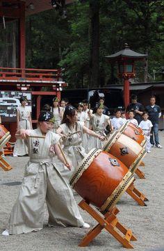 Japanese Taiko drums 太鼓