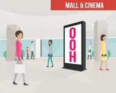 Mall & cinema advertising reach consumer as they are in the mindset to purchase & be entertained, a great way to get your message to a relaxed audience. Mall, Advertising, Cinema, Entertaining, Messages, House, Outdoor, Ideas, Outdoors
