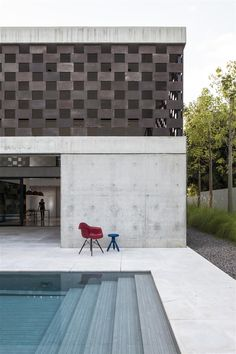 | POOLSIDE | #Architecture by #PitsouKedemArchitect - #concrete #pool deck