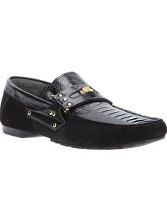 VERSACE - penny loafer car shoe 6