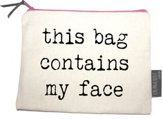 These versatile bags can be used as pencil cases, make-up bags or to carry valuables. We love the cheeky, funny slogans! They're perfect as gifts- or for treating yourself... http://designessentials.org.uk/product-category/designers/lola-and-gilbert/