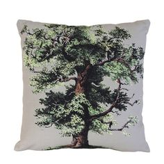 #hkliving #oaktree #eikenboom #kussen #print #botanisch #woontrend #wooninspiratie #gezellig