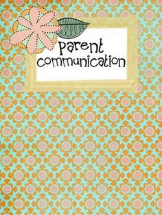 Free printable parent communication letters from Ladybug's Teacher Files. Very cute design and a great way to start a conversation with your child's teacher. Pinned by SPD Blogger Network. For more sensory-related pins, see http://pinterest.com/spdbn