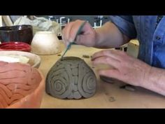 Making a coil pot step 2 - YouTube