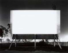 """Theatres"" - Hiroshi Sugimoto"
