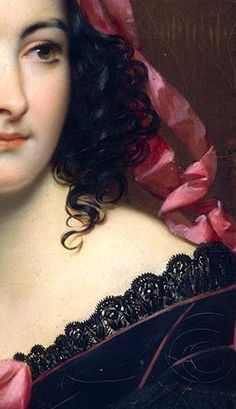 La Vénitienne au bal masqué Joseph-Désiré Court, detail