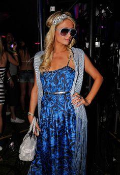More Pics of Paris Hilton Headband (6 of 8) - Paris Hilton Lookbook - StyleBistro