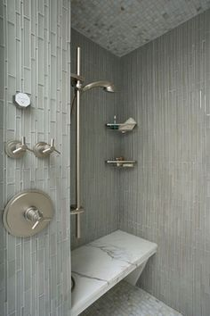 awesome 39 Adorable Mosaic Marble Shower Tile for Your Bathroom https://matchness.com/2017/12/22/39-adorable-mosaic-marble-shower-tile-bathroom/