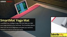 #SmartMat Yoga Mat -  Helps You Take Your #Yoga practice to the next level