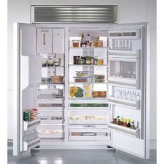Kenmore Pro- -29.5 cu. ft.  Built-In Side-By-Side Refrigerator ENERGY STAR®