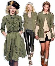 3 Ways To Get Spring's Military Style Just Right