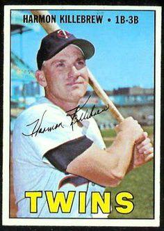 Harmon Killebrew   1967 Topps #460   (Twins)   value