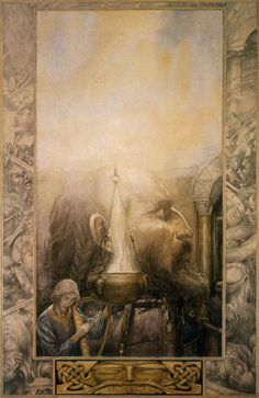 "illustratedbook:  Illustrated by Alan Lee - from the book ""The Mabinogion""[1] [3] [x]"