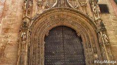Portada principal de la Iglesia del Sagrario de estilo gótico isabelino y realizada sobre 1498. La Iglesia fue levantada entre los siglos XV y XVIII.
