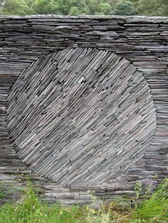 Stacked Stone Wall Texture - Andrew Goldsworthy