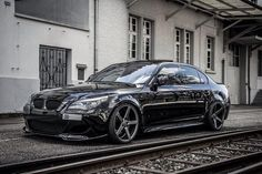 BMW E60 M5 black