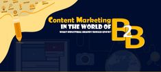 Content marketing is the most important digital marketing technique in today's world of business. Read on what industrial brands should know. Sales Strategy, Digital Marketing Strategy, Content Marketing, Marketing Techniques, Marketing Automation, Lead Generation, Infographic, Relationship, Reading