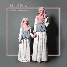 KidsMii: The new Bestie Top and Plea Skirt Grey - Belle Raya Series 2015 Little Girl Fashion, Kids Fashion, Kids Abaya, Islamic Fashion, Muslim Fashion, Mommy And Me Dresses, Muslim Dress, Girl Dress Patterns, Muslim Girls