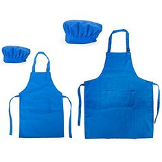 Opromo Colorful Cotton Canvas Kids Aprons and Hat Set, Pa... https://www.amazon.com/dp/B019OGL7AW/ref=cm_sw_r_pi_dp_3cHIxb5WYD2N5