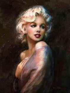 """Marilyn WW""  auch in XXXL-Größen und Tapeten erhältlich, viele Produkte wie z.B. Tassen, Kissen, Wanduhren, Kalender, Pads, Phone-Hüllen.... und mehr   http://www.fineartprint.de/bilder/ww-1,11398619.html  -----------------   www.fb.com/TheoDanella  ©  CANVAS PRINTS * TOTE BAGS * PILLOWS * CASES * MUGS * SHIRTS  www.redbubble.com/people/TheoDanella  PHONE-CASES  http://pixels.com/art/all/theo+danella/iphone+cases ______      Posters/Prints:   www.PVZ.net"