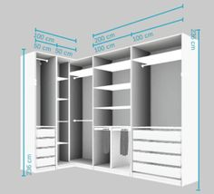 58 Ideas bedroom wardrobe corner walk in- - wardrobe.- 58 Ideas bedroom wardrobe corner w Wardrobe Design Bedroom, Master Bedroom Closet, Bedroom Wardrobe, Diy Wardrobe, Modern Wardrobe, Master Suite, Bedroom Cupboard Designs, Bedroom Cupboards, Walk In Closet Design