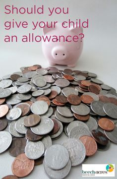 Should you give your child an allowance? Pros and cons.