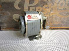 Vintage Apsco Giant Pencil Sharpener Wall Mount Old by corrnucopia, $18.00