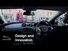 Jaguar Land Rover introduces the 360 Virtual Urban Windscreen - YouTube