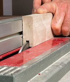 Cabinet shops that turn out raised-panel doors rely on heavy-duty shapers and cutters or at the very least a router-table setup that includes a range of expensive bits (you can Making Cabinet Doors, Shaker Style Cabinet Doors, Diy Cabinet Doors, Cabinet Ideas, Table Saw, A Table, Wood Table, Ideas Para Trabajar La Madera, Furniture Projects