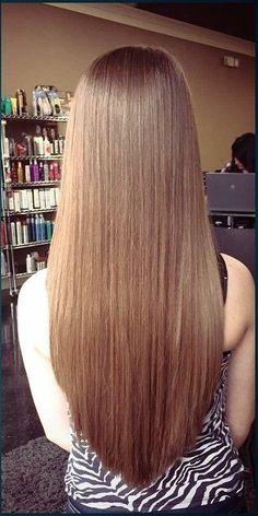 V Cut Hair, Beautiful Long Hair, V Cuts, Hair Goals, Straight Hairstyles, Blonde Hair, Braids, Hair Color, Long Hair Styles