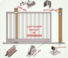Sliding Gate, Gate Ideas, Cots, Iron Work, Welding, Fence, Beautiful Homes, Construction, Steel