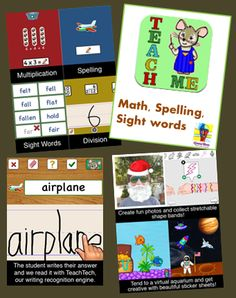 TeachMe 3rd Grade App - including tons of games for math, spelling and sight words. Only $1.99.  Also a chance to win 5 learning apps.