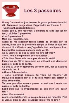 Les trois passoires Words Quotes, Me Quotes, Funny Quotes, Sayings, Positive Attitude, Positive Vibes, Quote Citation, Life Rules, French Quotes