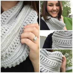 This free crochet pattern should look familiar- It is my Katniss Cowl but on a much smaller scale! It is just such a fun pattern (I also ... More
