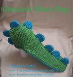 Newborn Dinosaur Photo Prop & You choose Colors by MommyisCrafty, $28.00