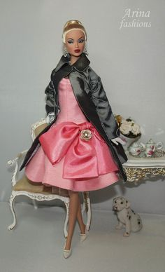 Outfit for Silkstone Barbie and Victoire Roux dolls OOAK on Etsy, $120.00